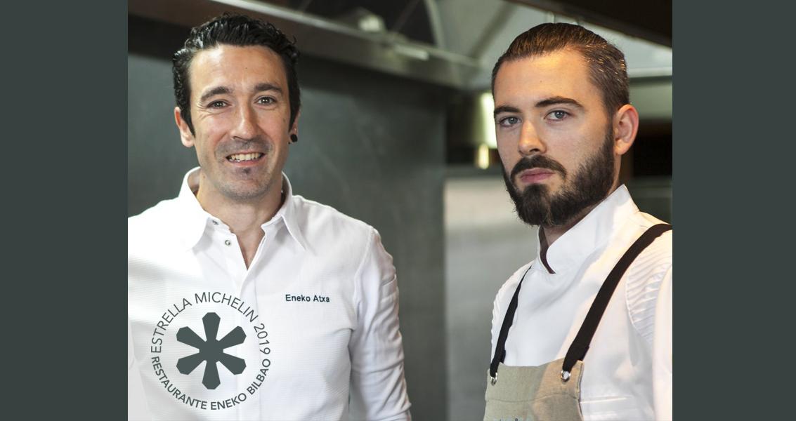 ENEKO Bilbao jatetxeak Michelin izar bat jaso du